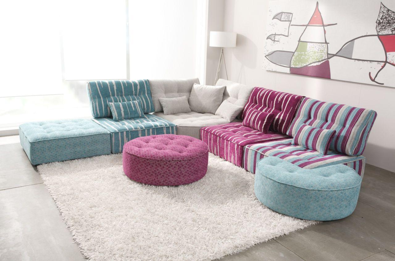 Ensemble Arianne Love Modular Sofa Modern Sofa Sectional