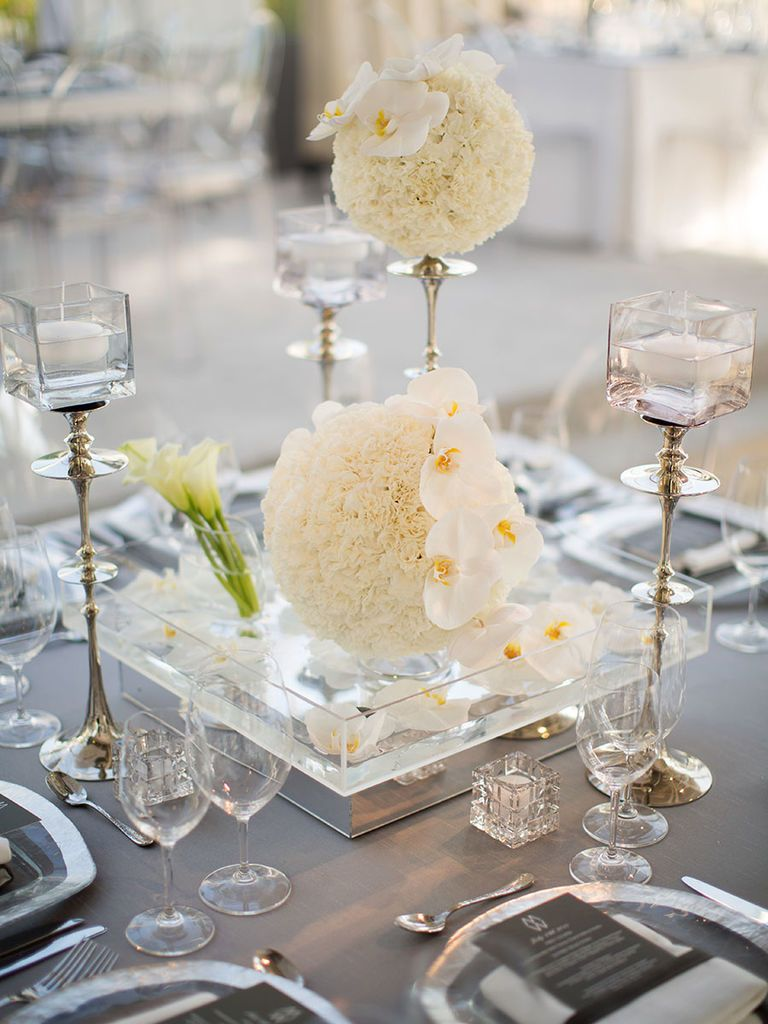 18 Romantic Wedding Centerpieces With Candles | Romantic wedding ...