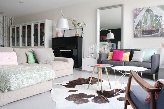 Piano! Funky Netherlands Home Tour by decor8, via Flickr