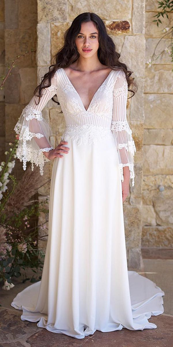 24 Modern Wedding Dresses From Top USA Designers | Top usa, Wedding ...