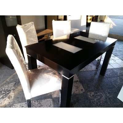 Mesa y sillas comedor wengue guatambu oferta de fabrica for Fabrica de mesas y sillas de comedor