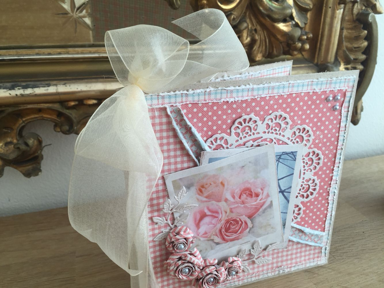 Card made with paper from Maja Design Summer Crush collection