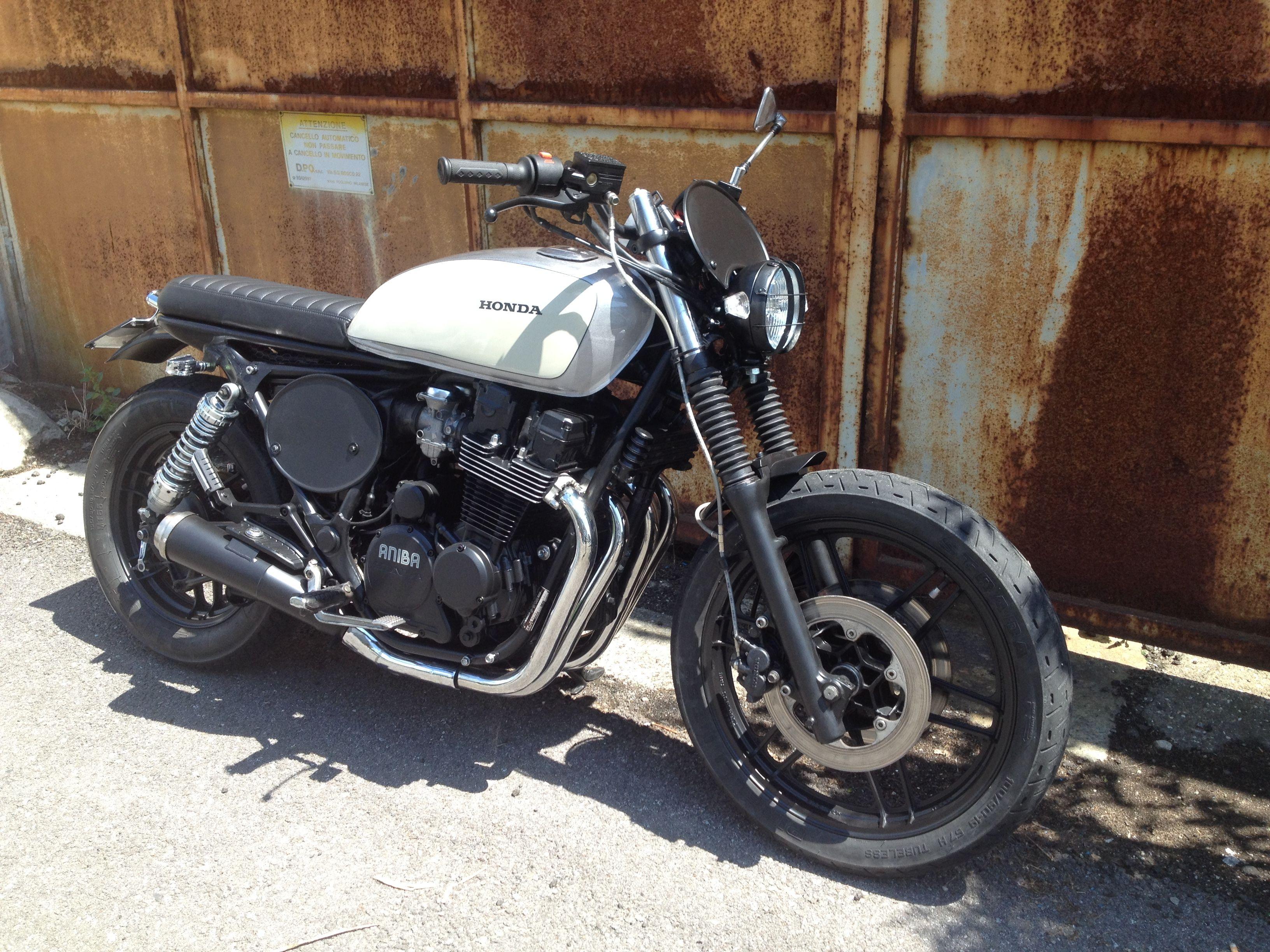 honda cb 650 sc nighthawkaniba motorcycles   cafe brat bobber