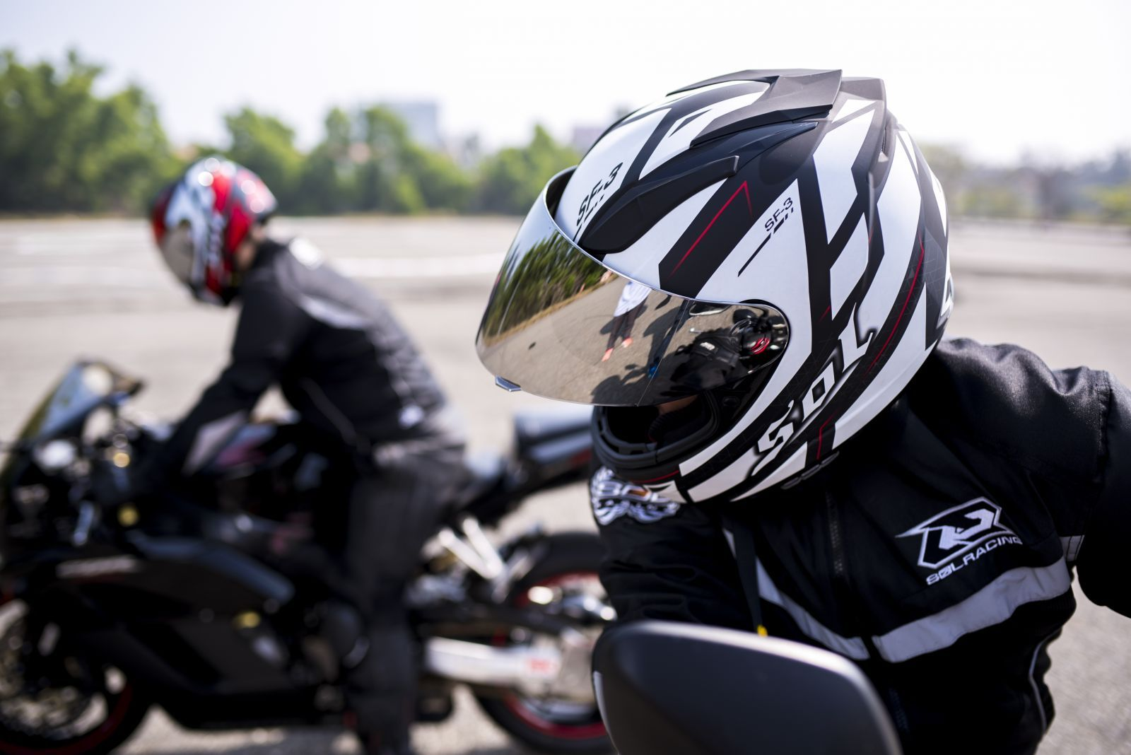 Gloss White FLY STREET 2017 REVOLT FS Full-Face Motorcycle Helmet Choose Size