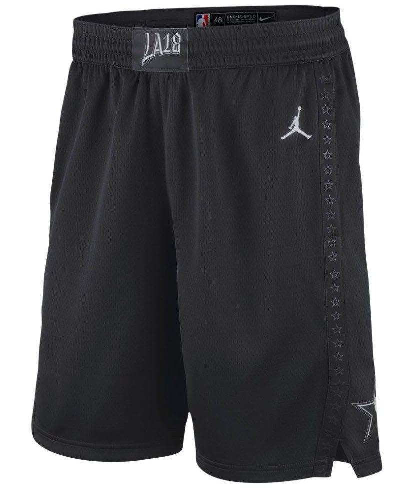 56419135faf2 Jordan NBA All Star Icon Edition Swingman Shorts Mens L Black  Nike  AllStar