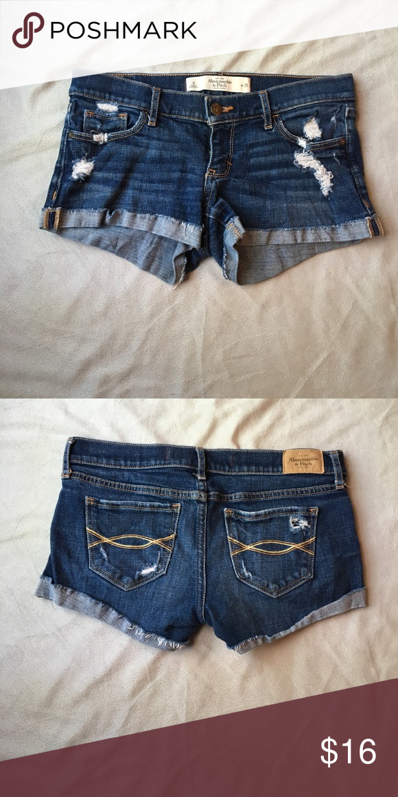 Abercrombie and Fitch rolled jean shorts | Rolled jeans ...