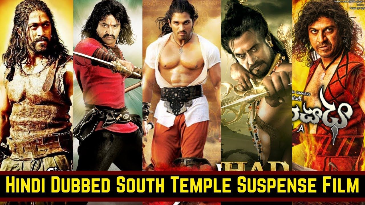 18 Best Hindi Dubbed South Indian Temple Based Movies List Suspense My Indian Movies Suspense Mystery Thriller