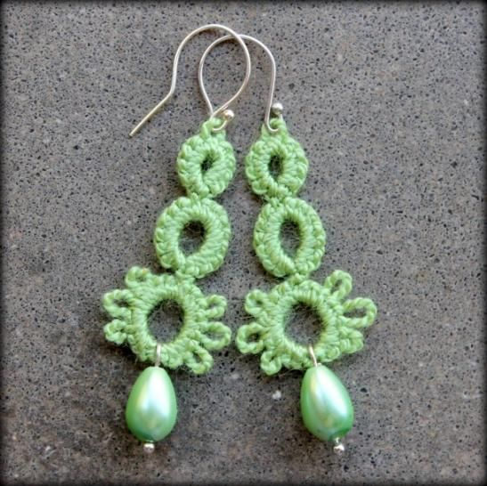 Earrings tatted by jodissimo on intatters