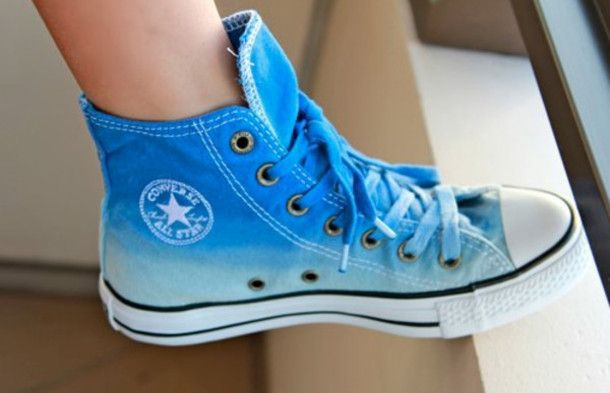 Ombre Converse | Fashion and Hair in 2019 | Converse shoes