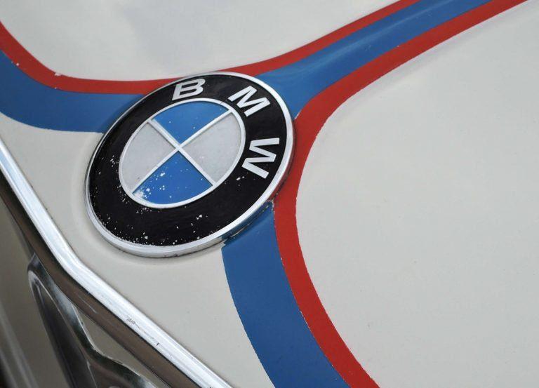BMW /'Tii/' Badge Blue