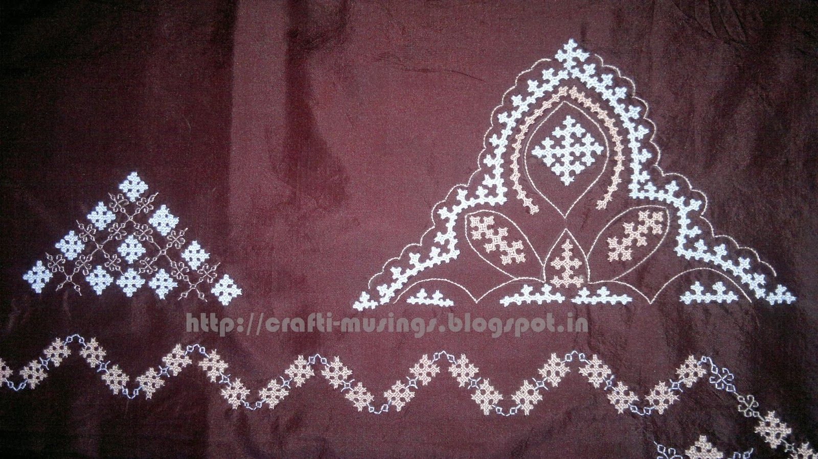 Silk saree blouse designs without embroidery what is kutch embroidery  google search  kutch work  pinterest