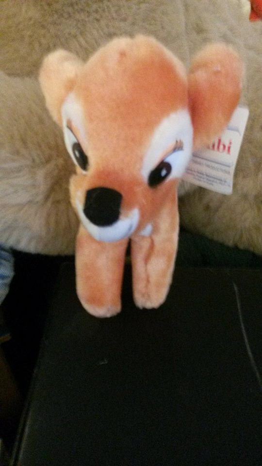 Bambi Disney Animated Film Classics 1985 Bambi Plush