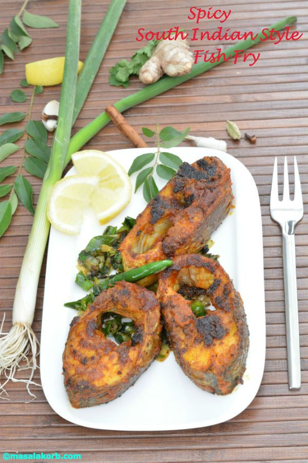 Spicy south indian style fish fry indian pinterest fish fry indian food recipes spicy south indian style fish fry forumfinder Image collections