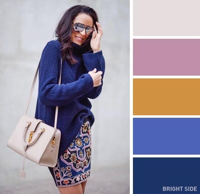 فن تنسيق الملابس هل تعرفين الأسماء الصحيحة لهذه الألوان Colour Combinations Fashion Color Combinations For Clothes Color Combos Outfit
