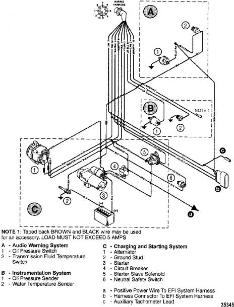 454 mercruiser engine wiring diagram  diagram parts image