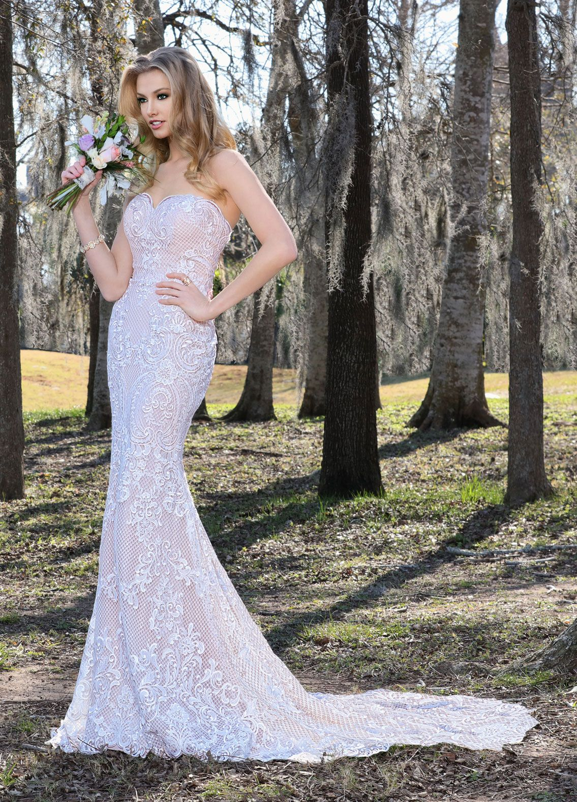 Wedding dresses sacramento  Style   Ashley u Justin Bride available at Hello Beautiful