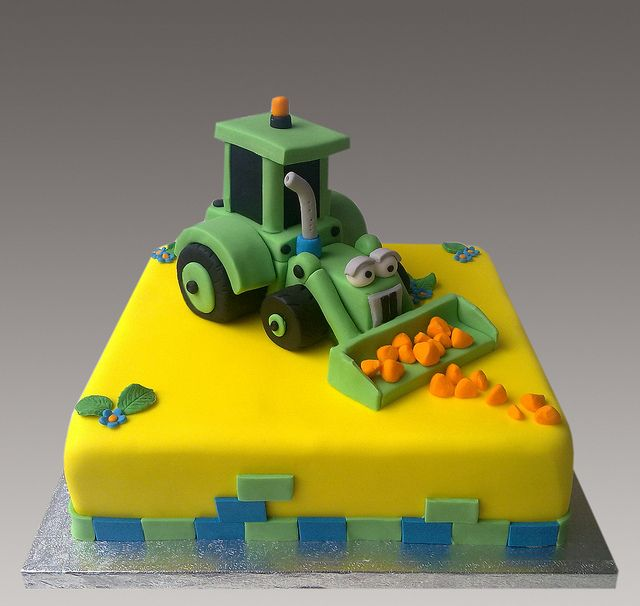 Bulldozer Cake Cakes And Cupcakes For Kids Birthday Party