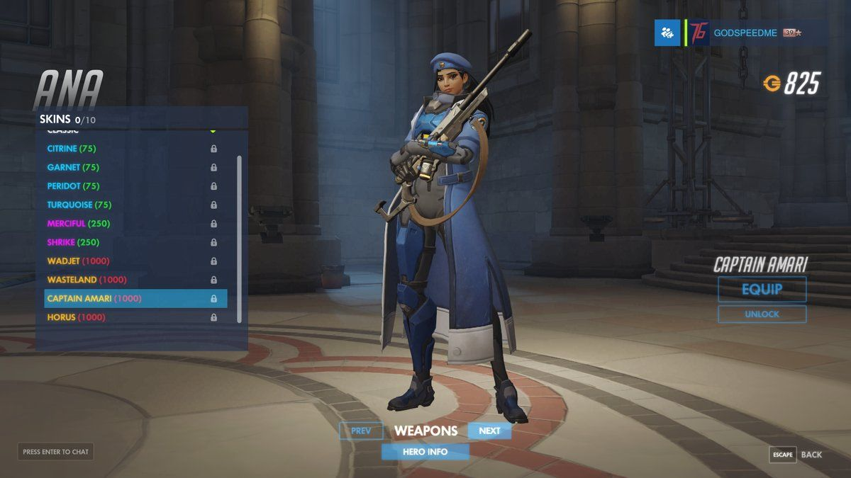 one of ana s young skins as she appears in overwatch backstory