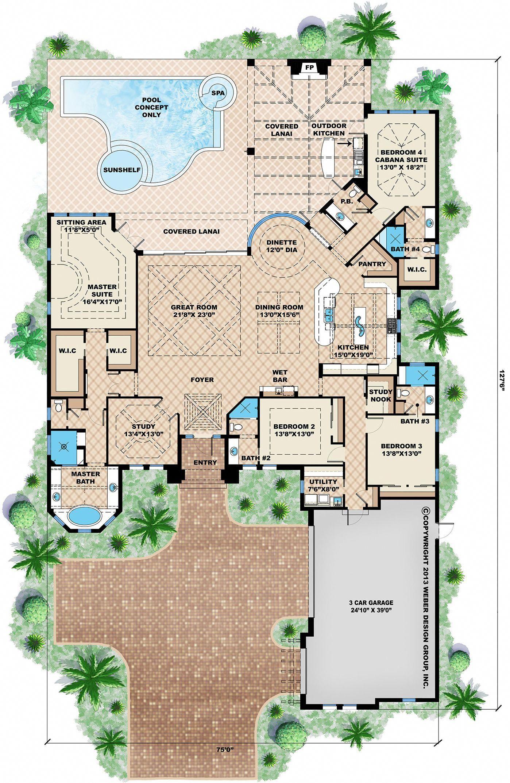 Maison de luxe et de la propriété #Villamoderne   Villa moderne ...