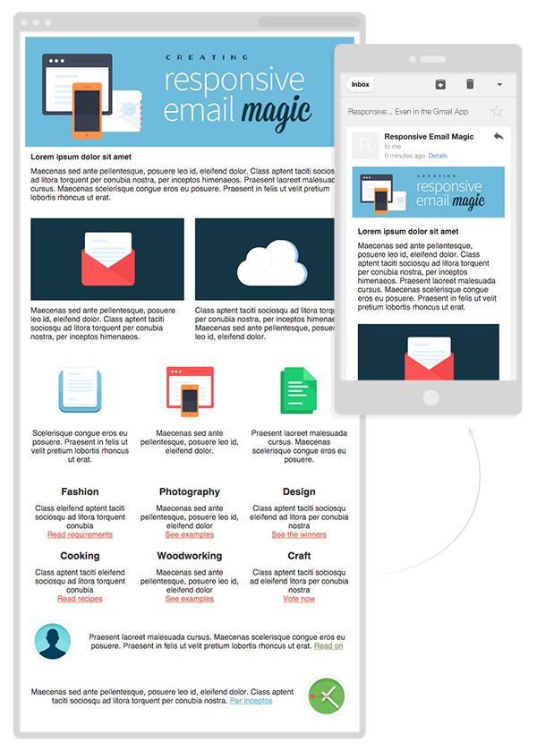 Creating A FutureProof Responsive Email Without Media Queries This - How to build a responsive email template