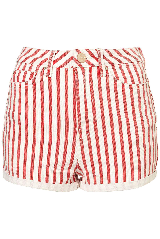 MOTO Stripe Hotpants #TopShop | Garb and Style | Pinterest