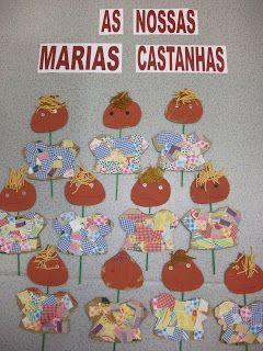 Creche e J.I. Nª Sª D'Ajuda: As Marias Castanhas da sala 4