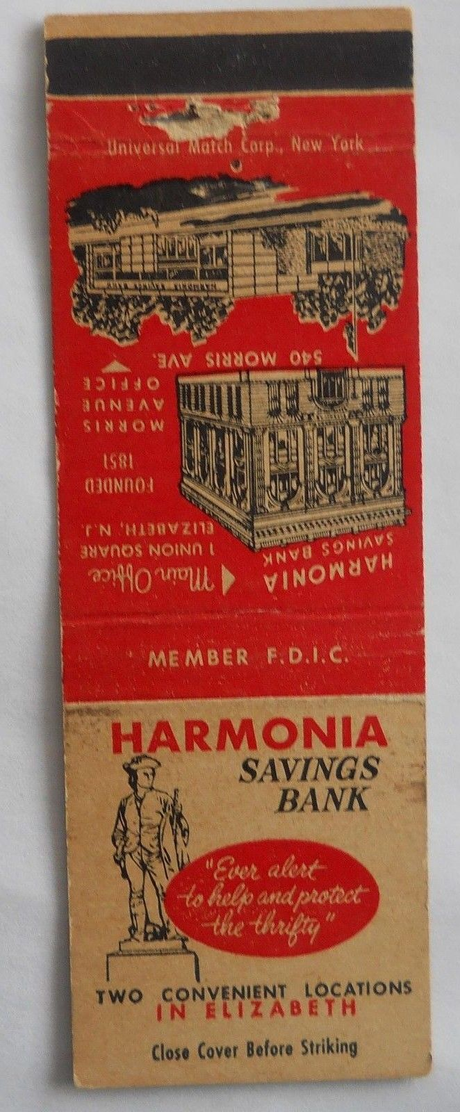 366 Harmonia Savings Bank Elizabeth Nj With Images Savings