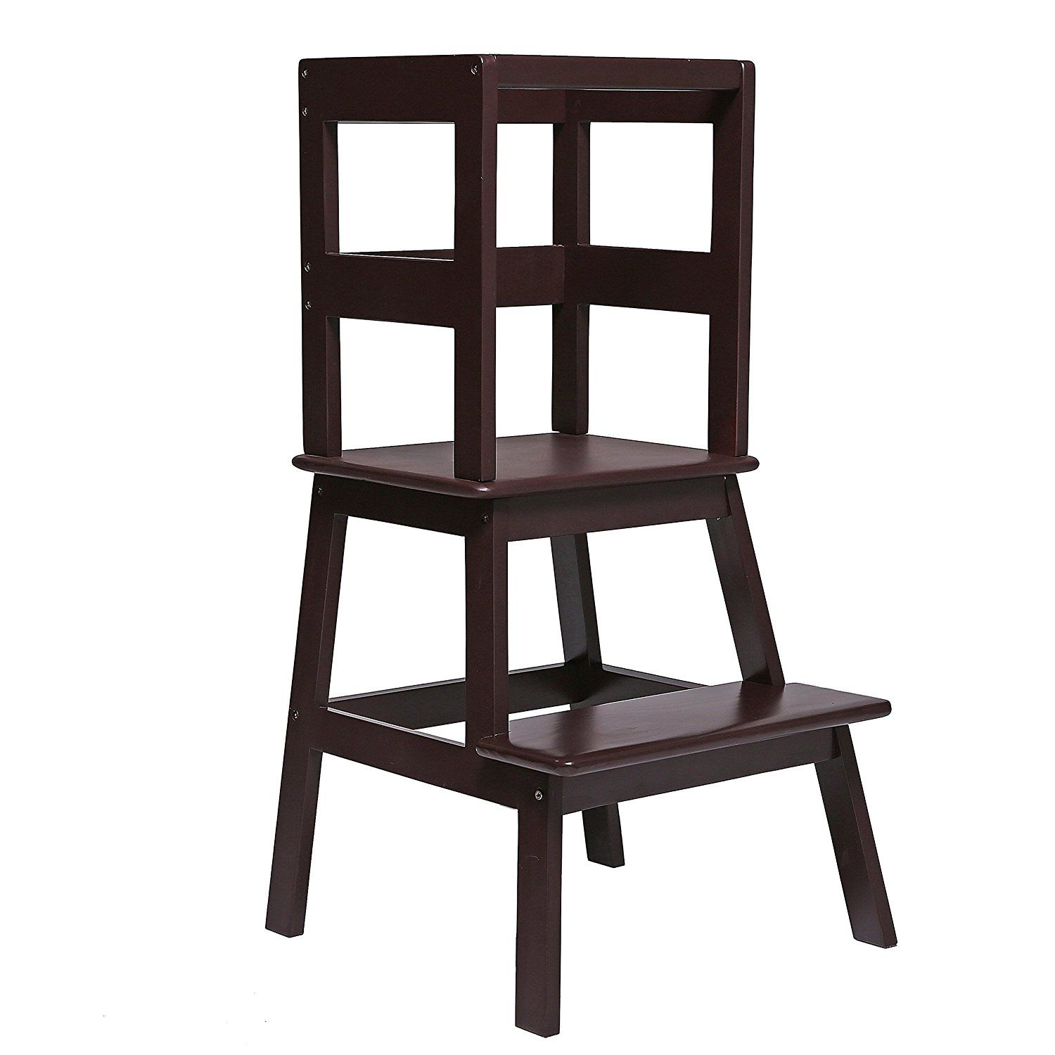 unicoo kids learning tower learning stool kitchen step stool little helper tower. Black Bedroom Furniture Sets. Home Design Ideas