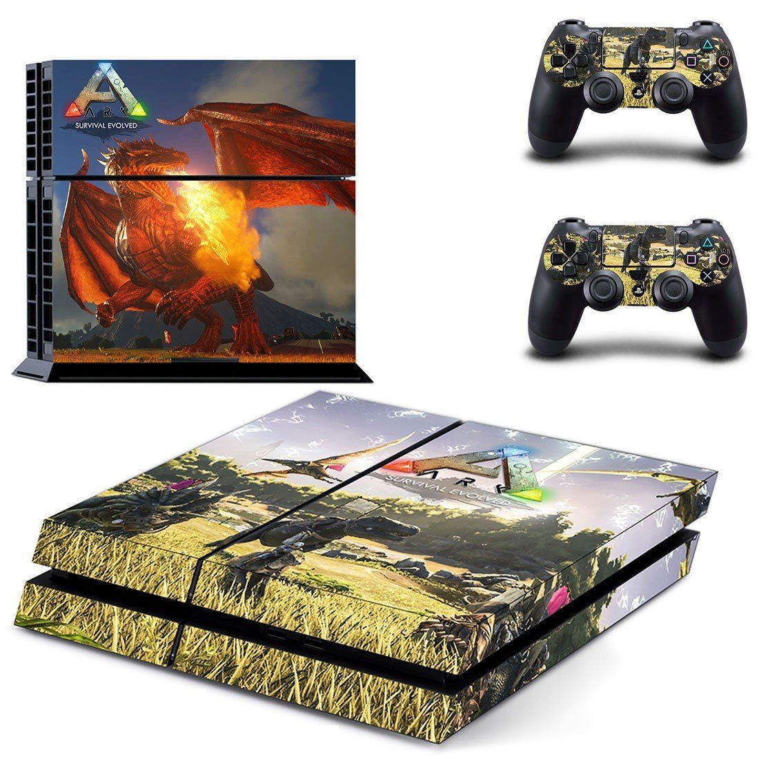 Ark survival evolved ps4 skin decal for console and 2