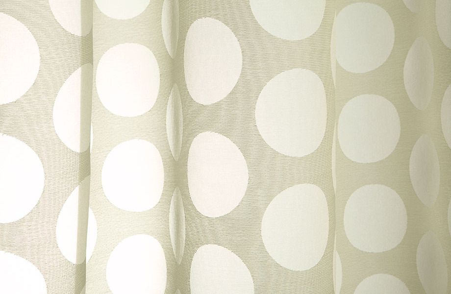 repeat coinu0027s dots with baburu sheer drapery fabric in champagne shimmer this sheer drapery fabric