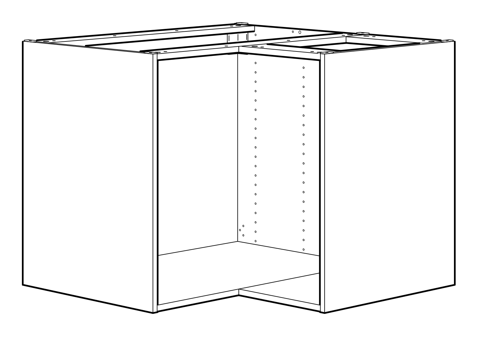 How To Hack A Flat Front Ikea Corner Sink Ikea Hackers Corner Sink Ikea Kitchen Sink Ikea Corner Cabinet
