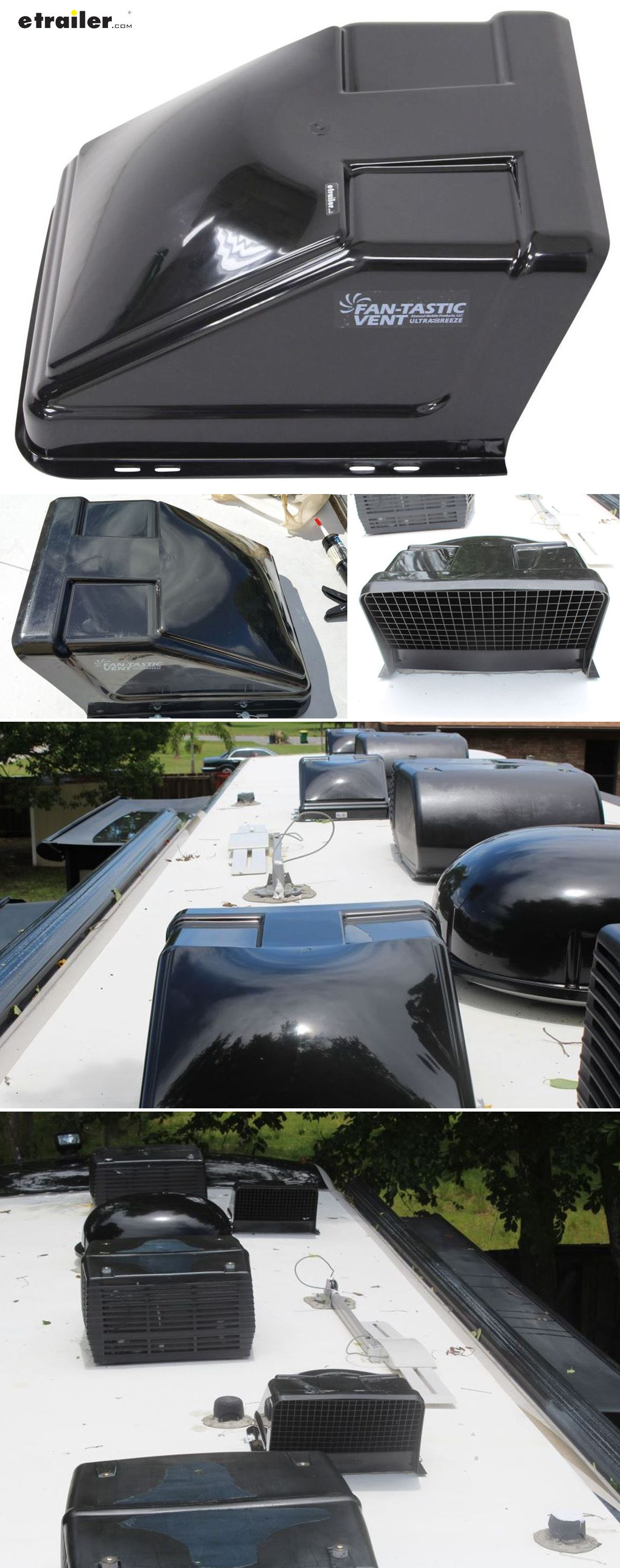 FanTastic Vent Ultra Breeze Trailer Roof Vent Cover 23