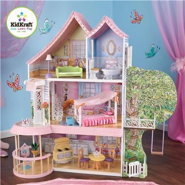 KidKraft Fancy Nancy Dollhouse | BabyAge.com