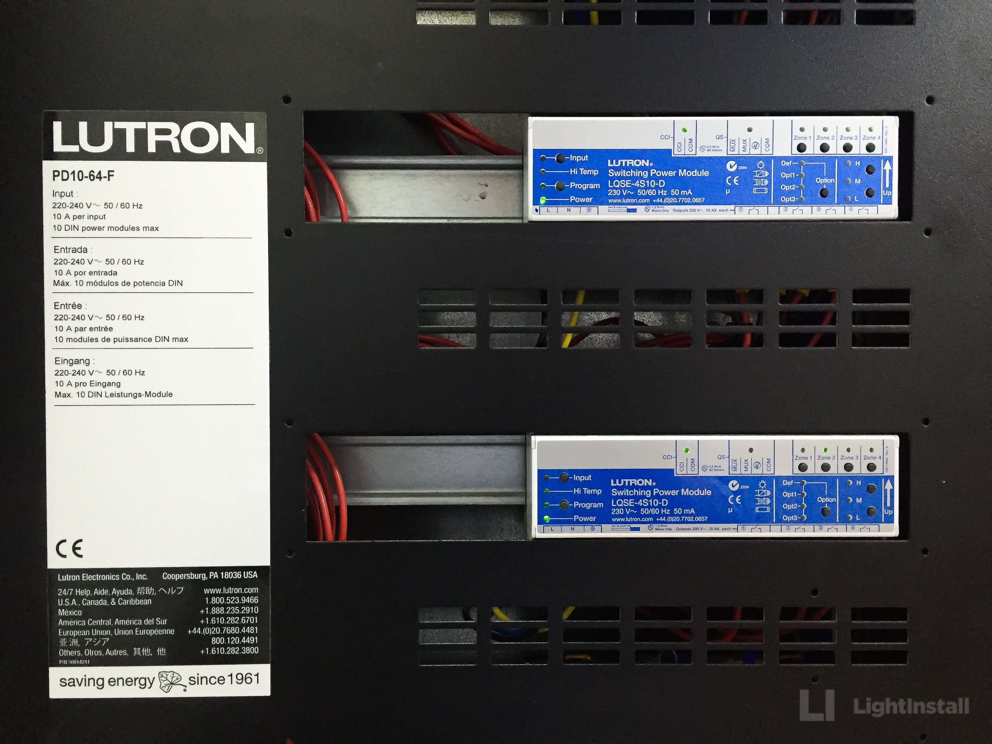 lightinstall #lutron #panel #dpm #homecontrol #design
