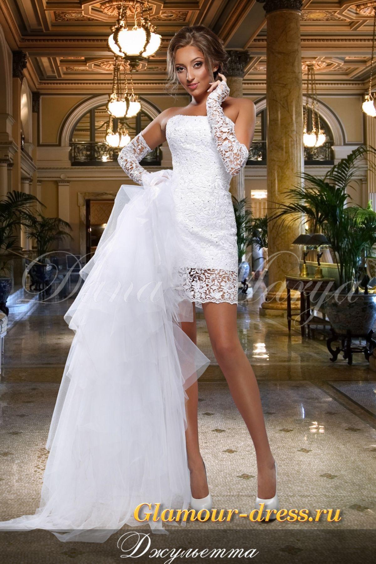 f161901d2d2 Короткое свадебное платье трансформер Джульетта Санкт-Петербург