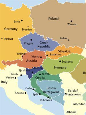 L Europe De L Est : europe, Carte, Europe, Régional, Departement, Europe,, Voyage