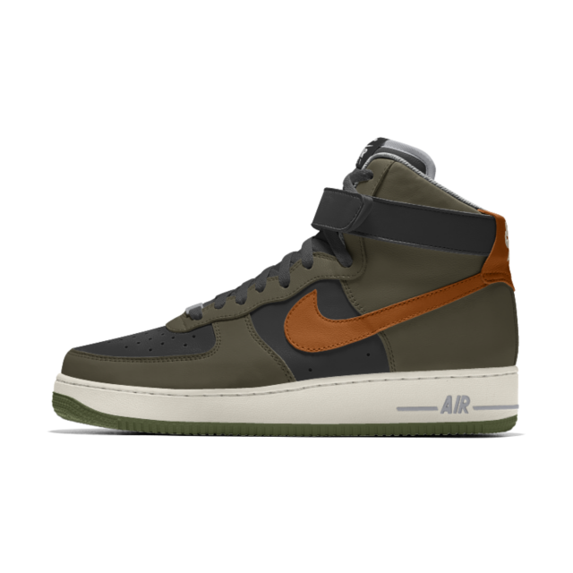 économiser 1c5dd 500b3 The Nike Air Force 1 High By You Custom Shoe | Country born ...