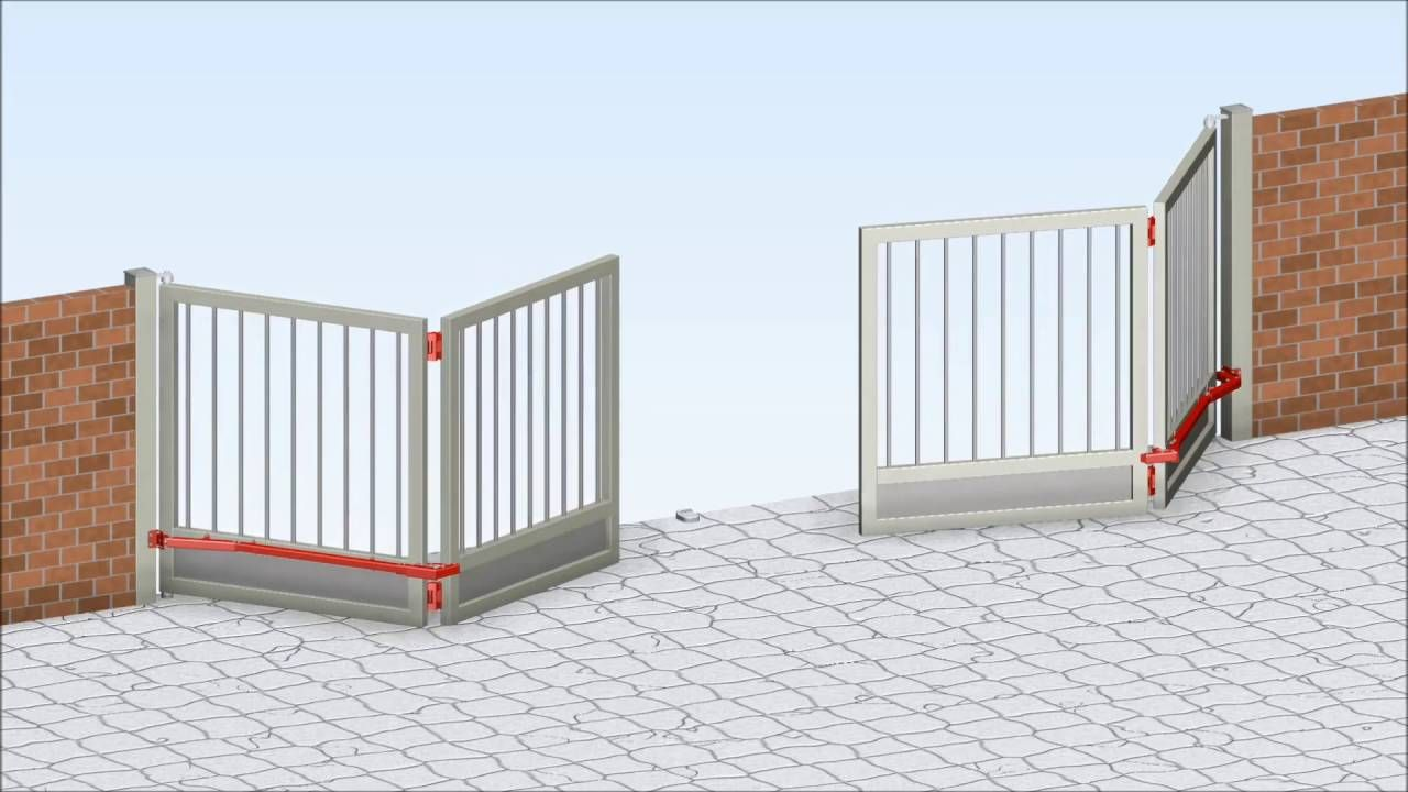 Fac kit de herrajes plegables 4 hojas youtube portones - Kit puertas plegables ...
