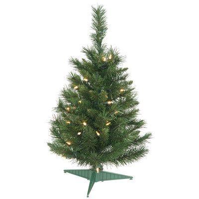 Vickerman 25\u0027 Imperial Pine Artificial Christmas Tree with Multi