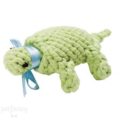 Jax & Bones Ted the Turtle Rope Toy | Pet Fancy