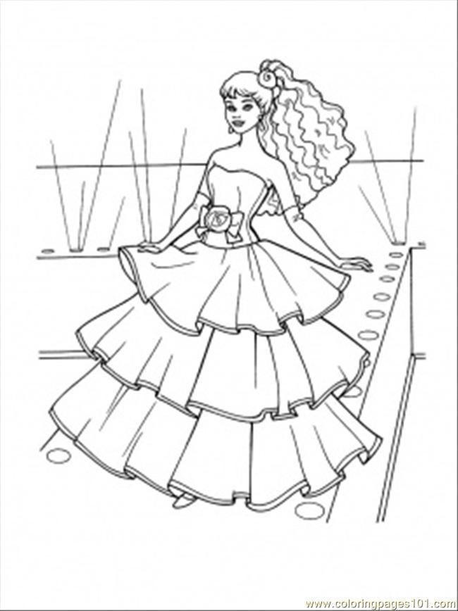 Pin By Cara Huss On Coloring Princess Coloring Pages Barbie Coloring Barbie Coloring Pages