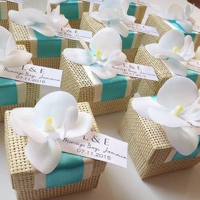 Organic Woven Favor Box With Orchid Accent By Urbanelementsdesign Wedding Bo Beach Favors