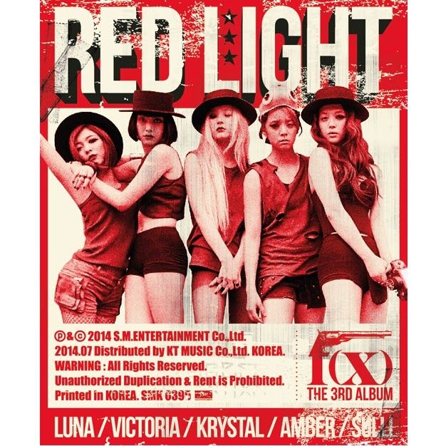F(x) Red Light (3rd Album + MV) (MP3 Download Free) [K2Ost] | Kpop