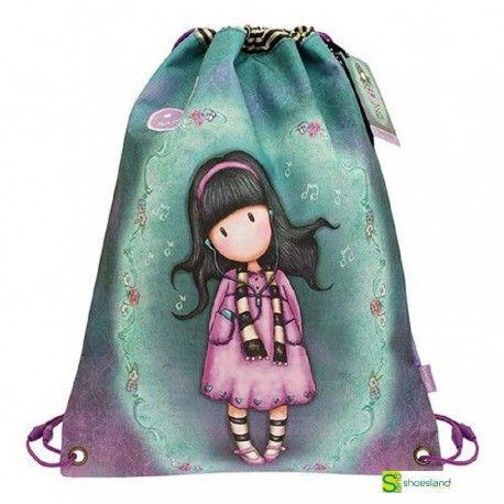14354eca291 La bolsa mochila tipo saco de Gorjuss