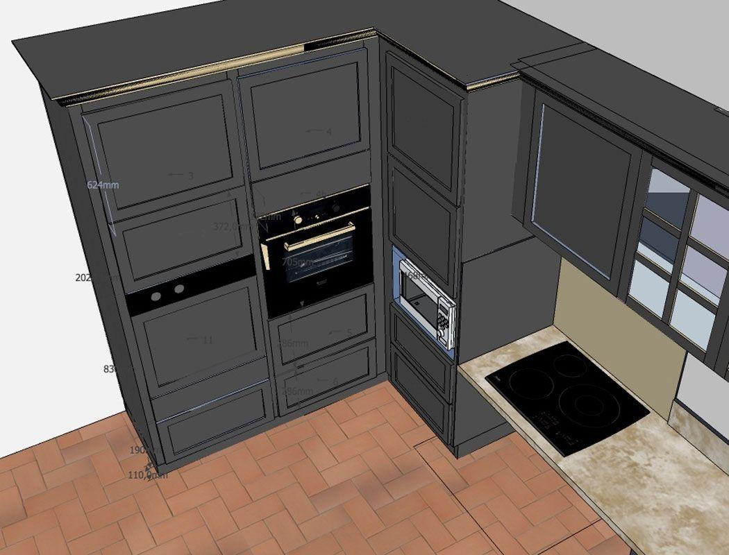 Cuisine Adaptee Pmr Par L Atelier Etienne Bois Plan Maison Maison Cuisine