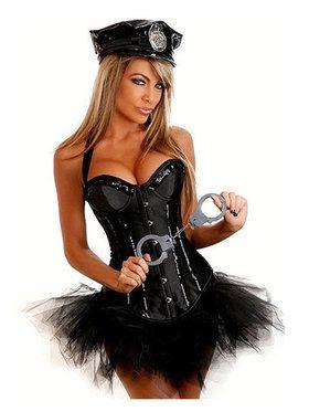 Womenu0027s Deluxe Sexy Cop Costume  sc 1 st  Pinterest & Womenu0027s Deluxe Sexy Cop Costume | Costumes | Pinterest | Sexy cop ...