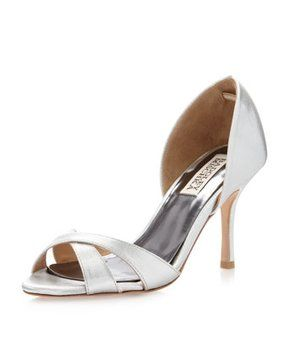 Zapatos beige formales Badgley Mischka para mujer 7YDhwyW
