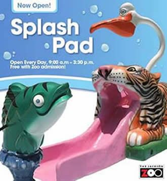 New splash pad at the Jackson Zoo... now open! | Family ...