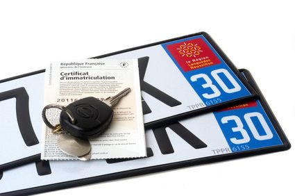 French Car Registration Is Known As Immatriculation And The