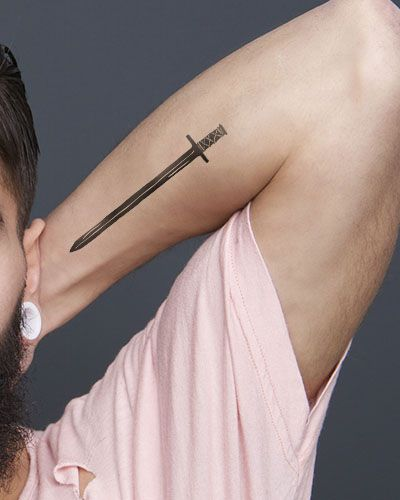 arm blade name. 16 sword tattoo designs and their meanings arm blade name